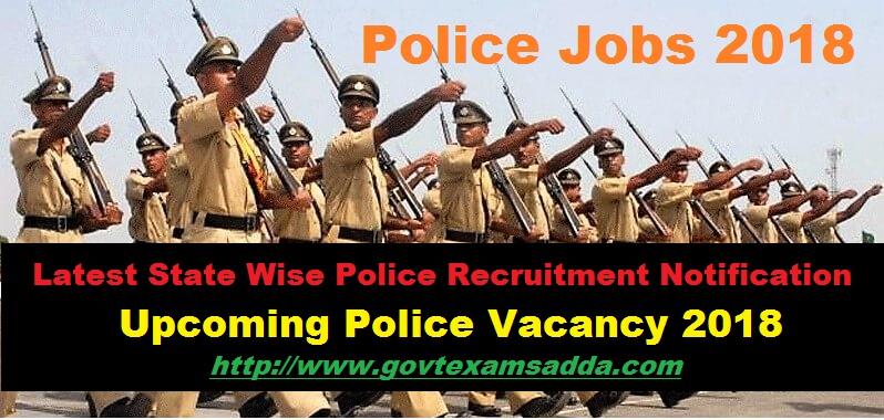 Police Jobs 2018