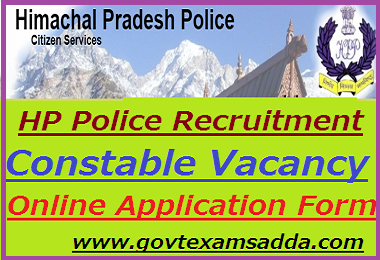 HP Police Recruitment 2019