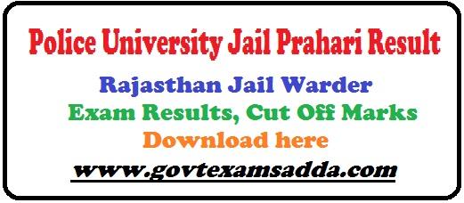 Police University Jail Prahari Result