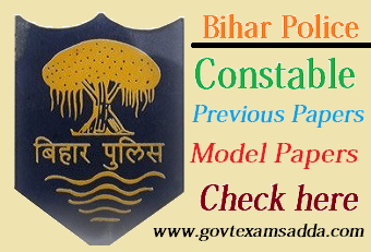 Bihar Police Previous year Question Papers