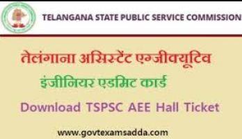 TSPSC AEE Admit Card 2021