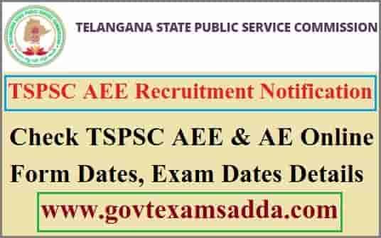 TSPSC AEE Recruitment 2021