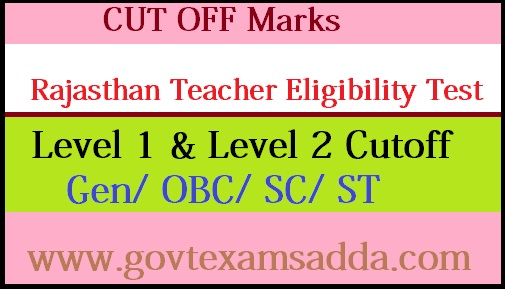 REET Cut off Marks 2018