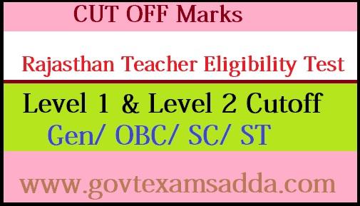 REET Cut off Marks 2020-21