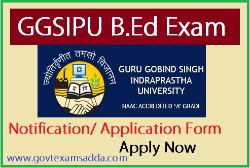 ggsipu-bed-application-form-2018 Vyapam B Ed Application Form on