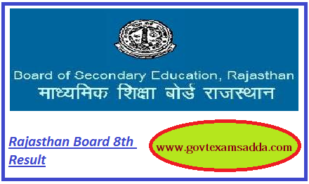 Rbse 8th class result 2018 rajasthan board 8th district wise results rbse 8th class result 2018 malvernweather