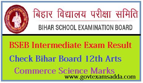 bihar board 12th science result 2019