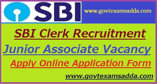 SBI Clerk Recruitment 2019