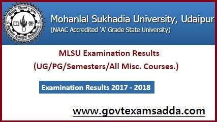 MLSU Result 2018
