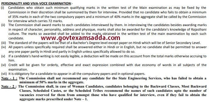 RPSC Assistant Engineer Syllabus 2018