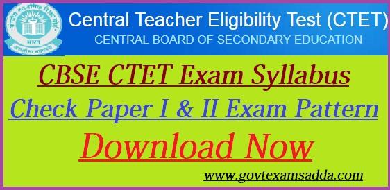 ctet syllabus 2019 in hindi pdf download primary level