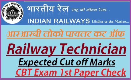 RRB ALP Expected Cut off Marks 2018