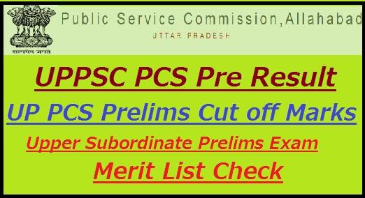 UPPSC PCS Pre Result 2021