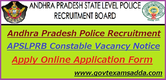 AP Police Recruitment 2018-19