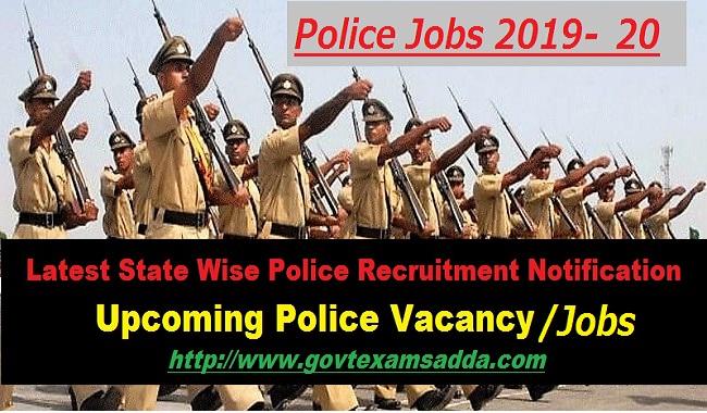 Police Jobs 2019-20