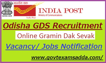 Odisha Postal Circle Recruitment 2019